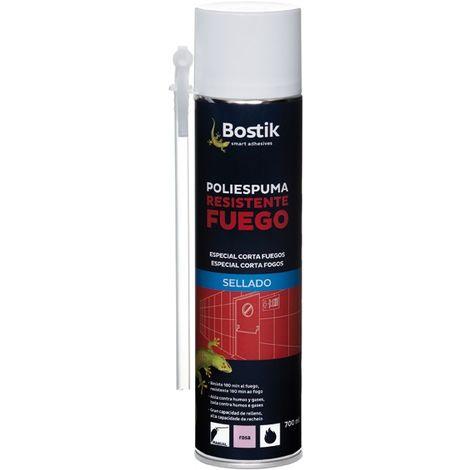 Espuma Poliuretano Manual Bostik Resistente al fuego 700Ml