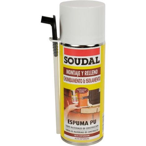 Espuma poliuretano manual Soudal 300ML 121651