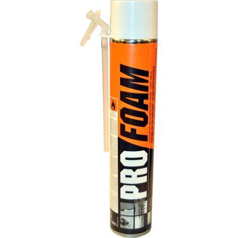 Espuma poliuretano Profoam manual Soudal 750 ml