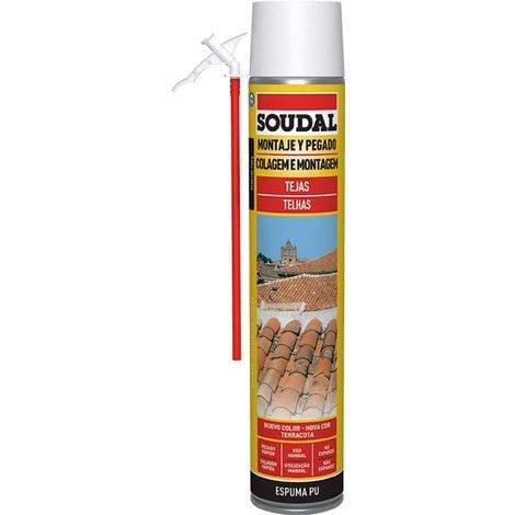 Espuma teja manual gris 750 Ml Soudal