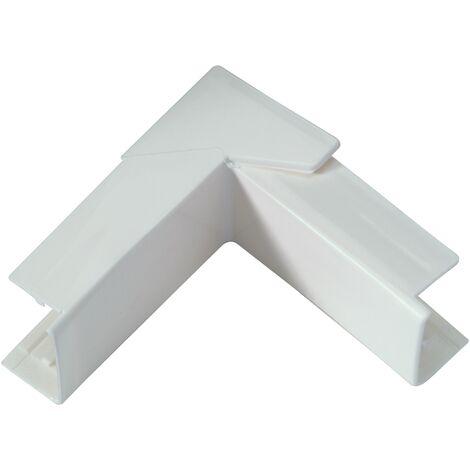 Esquina Interior / Exterior Legrand - DLP blanca de 20 x 12,5 mm - Blanc