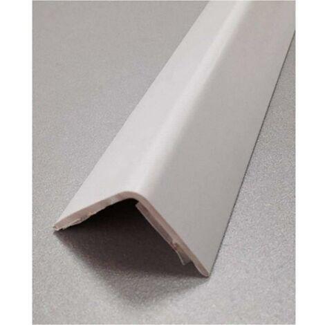 Esquinero paredes adhesivo 15x15x2,60mt pvc blanco rufete 41150