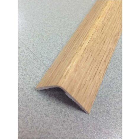 Esquinero paredes adhesivo 15x15x2,60mt pvc roble natural rufete 41535