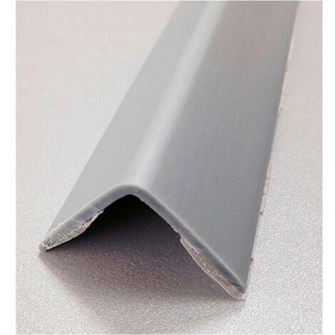 Esquinero Paredes Adhesivo 25X25X2,60Mt Pvc Aluminio Rufete 41076
