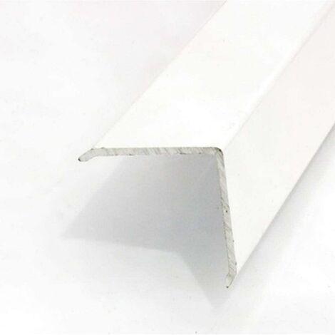 Esquinero Paredes Adhesivo 28X28Cm-2Mt Aluminio Blanco Dicar