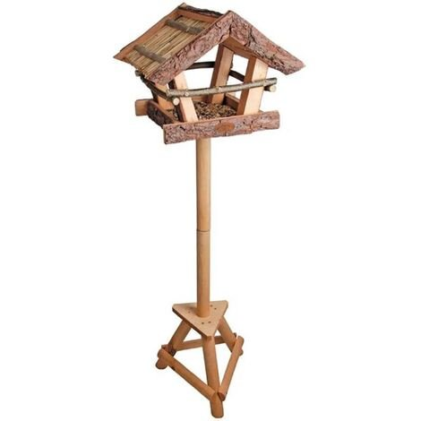 Esschert Design Bark Bird Table in Gift Box FB256