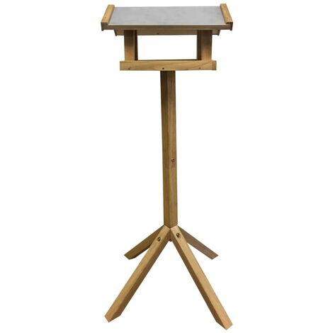 Esschert Design Bird Table Rectangular Steel Roof FB432