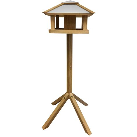 Esschert Design Bird Table Square Steel Roof FB433