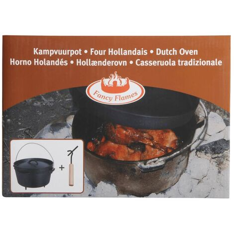 Esschert Design Dutch Oven 3.7 L Black FF117