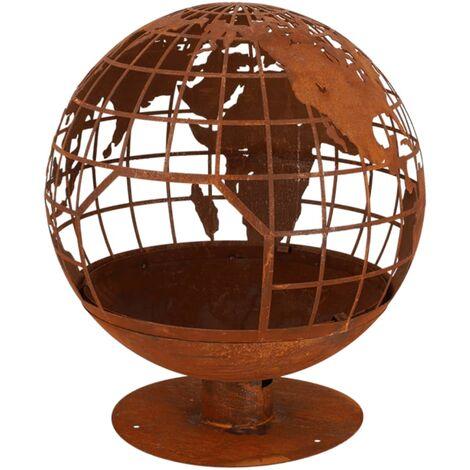 Esschert Design Fire Globe - Brown