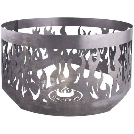 Esschert Design Fire Ring for Fire Bowl Grey Steel FF415