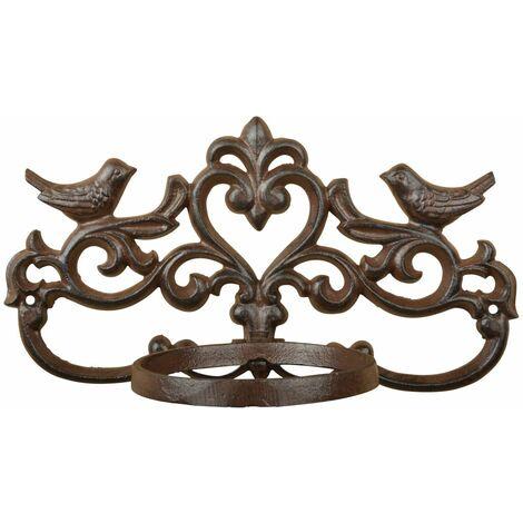 Esschert Design Flowerpot Holder Brown Cast Iron BR28