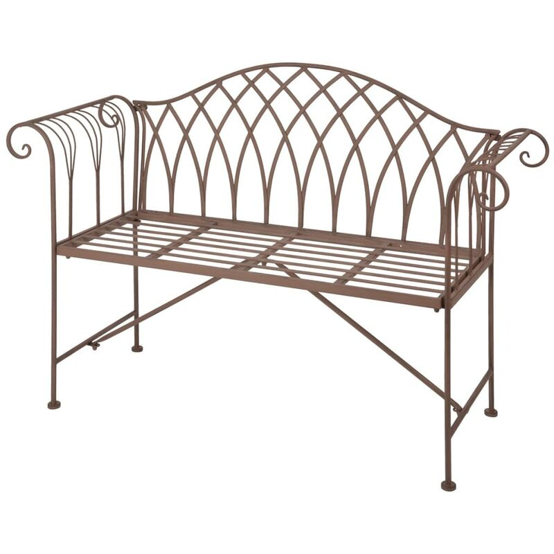 Groovy Esschert Design Garden Bench Metal Old English Style Mf009 Ncnpc Chair Design For Home Ncnpcorg