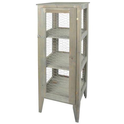 Esschert Design Garden Cabinet 118 cm NG74 - Grey