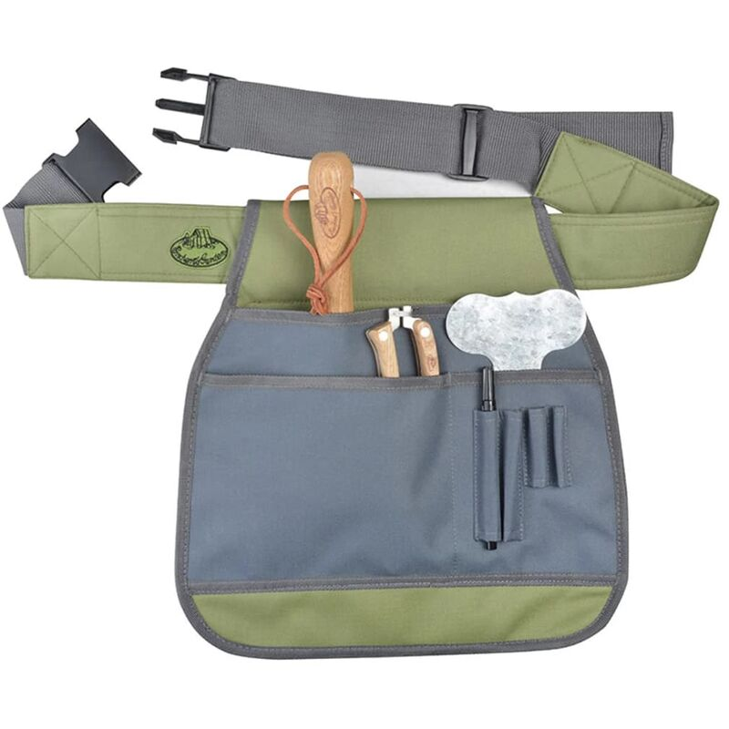 Image of Esschert Design Garden Tool Belt Grey GT87 - Grey