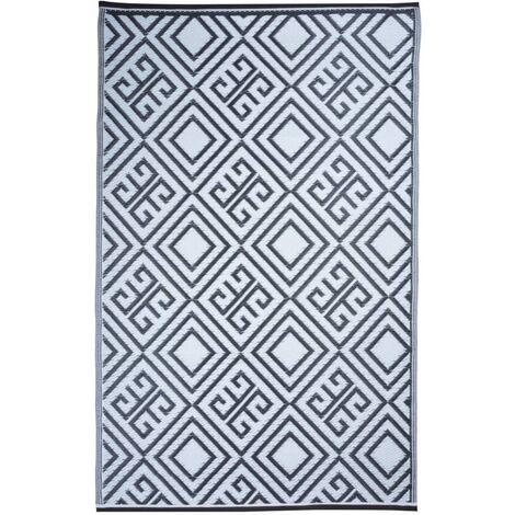 Esschert Design Outdoor Carpet 120x186 cm Graphic OC12