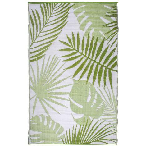 Esschert Design Outdoor Garden Carpet 241x152 cm Jungle Leaves OC22