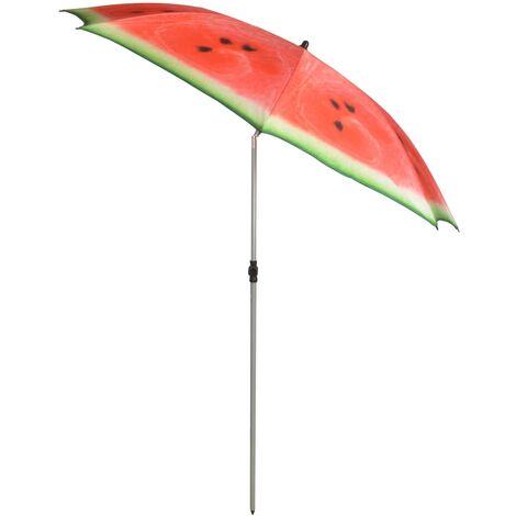 Esschert Design Parasol Watermelon 184 cm Red and Green TP262