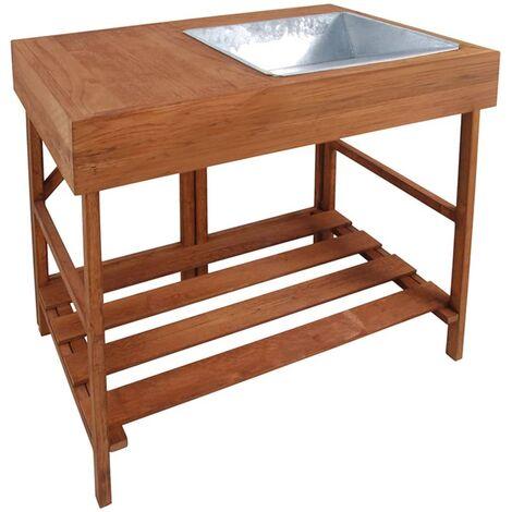 Esschert Design Potting Table Hardwood GT35