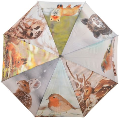 Esschert Design Regenschirm Wintermotive