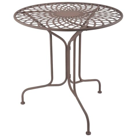 Esschert Design Table Metal Old English Style MF007