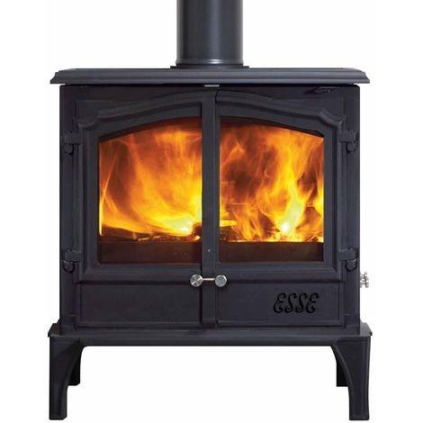 Esse 200XK Double Door Wood Burning - Multi Fuel DEFRA Approved Stove