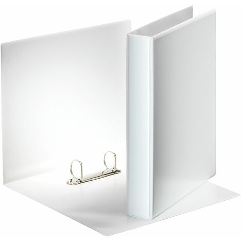 Esselte 46571 A5 White Presentation Ring Binder 2x 'D' Rings 25mm