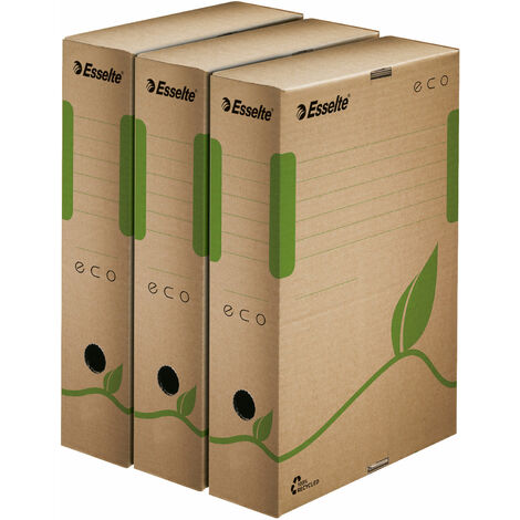 Esselte 623917 Eco Transfer File 100mm Pack 25