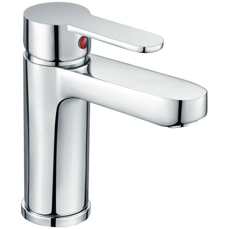 Essence Chrome Basin Mono Mixer & Slotted Sprung Basin Waste