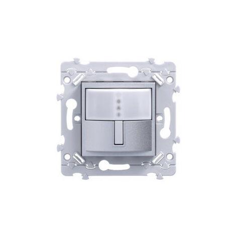 essensya Interrupteur automatique IR 2 fils Titane (WE050T)