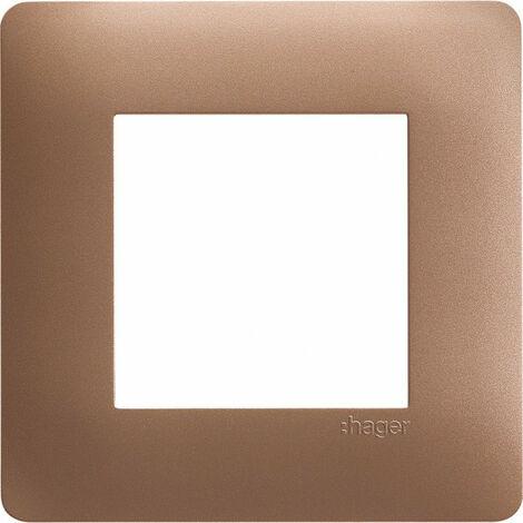 essensya Plaque 1 poste Bronze (WE461)