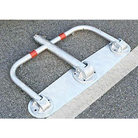 Essential Line 3de pied standard Park à repasser-de parking, umlegbar, avec verrou Cylindre et plaque de montage, ars330