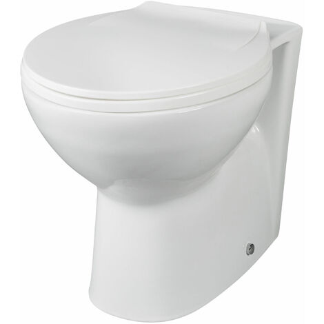 Essentials Back To Wall WC Pan