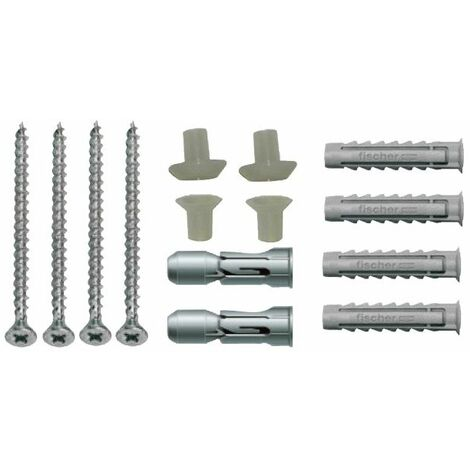 Essentials Basin To Wall/ Pedestal To Floor Fixing Kit