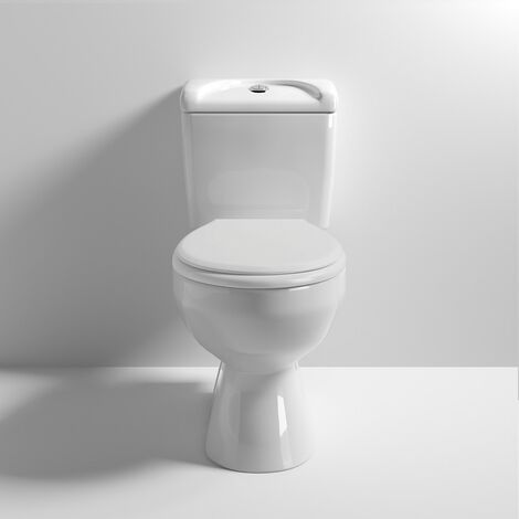 Essentials Close Coupled Toilet & Deluxe Soft Close Seat