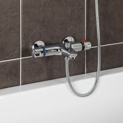 Essentials Overbath Wall Mounted Filler & Head Kit