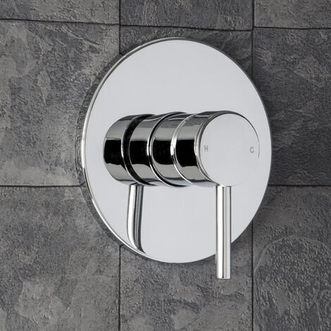 Essentials Round Concealed Stick Shower Valve