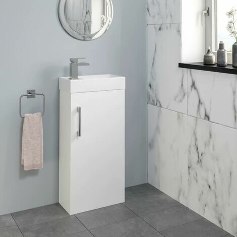 Essentials Toilet and 400mm Kompakt Vanity Unit