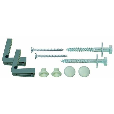 Essentials WC Pan To Floor Side Fixing Kit