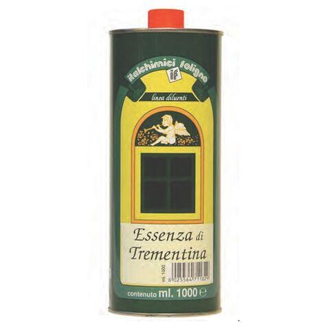 Essenza trementina Italchimici vegetale diluente smalto solvente pittura finitura 1Lt