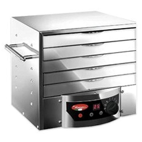 Essiccatore per Alimenti Elettronico Controllo Digitale 260 Watt in Acciaio Inox