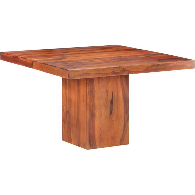Vidaxl - Esstisch 120x120x77 cm Massivholz