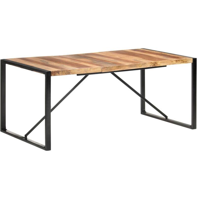 Esstisch 180x90x75 cm Massivholz mit Palisander-Finish - VIDAXL