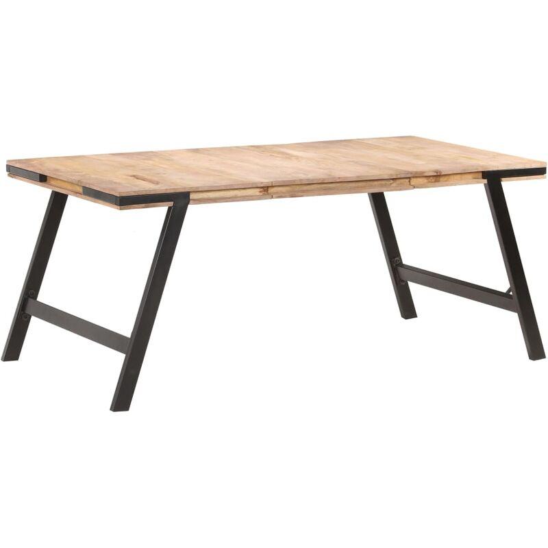 Esstisch 180x90x76 cm Massivholz Mango - VIDAXL