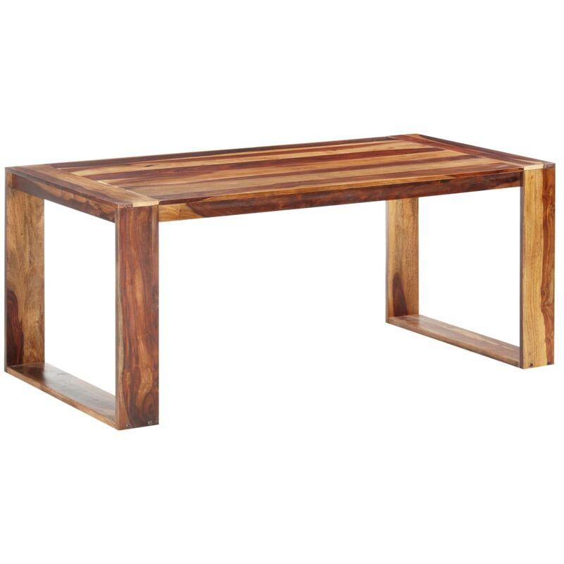 Esstisch Massivholz 180x90x76cm Hellbraun - VIDAXL