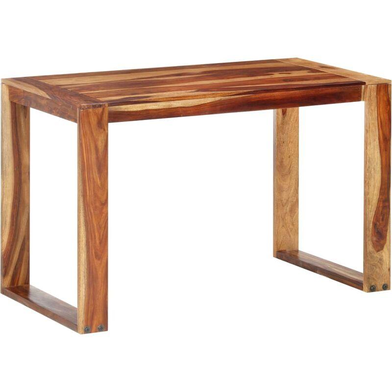 Esstisch Massivholz 120x60x76cm Hellbraun - VIDAXL