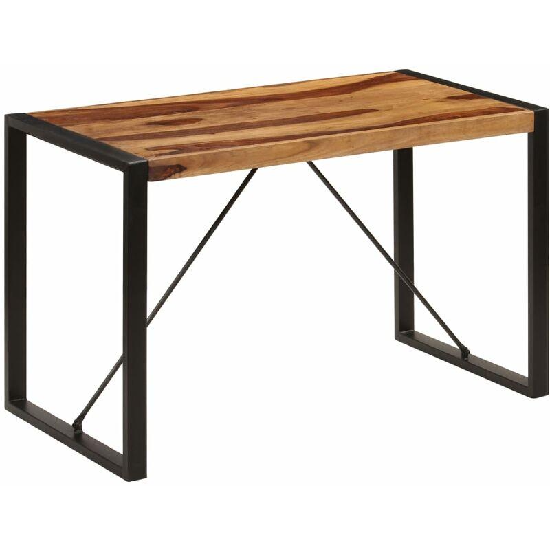 Vidaxl - Esstisch Massivholz 120x60x76cm