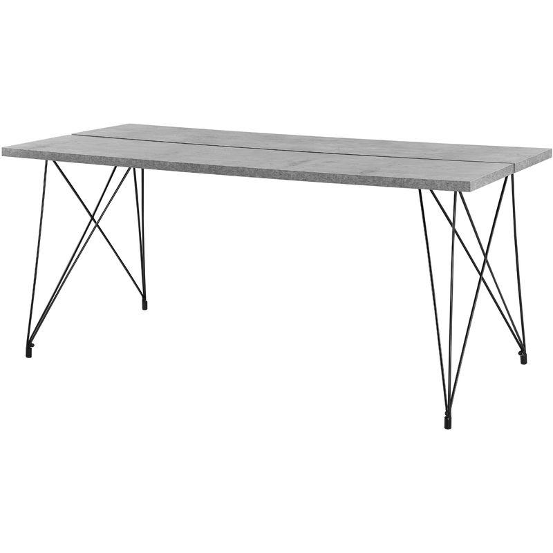 Esstisch Küchentisch Esszimmertisch Tisch Esszimmer Beton 180x80cm - EN.CASA