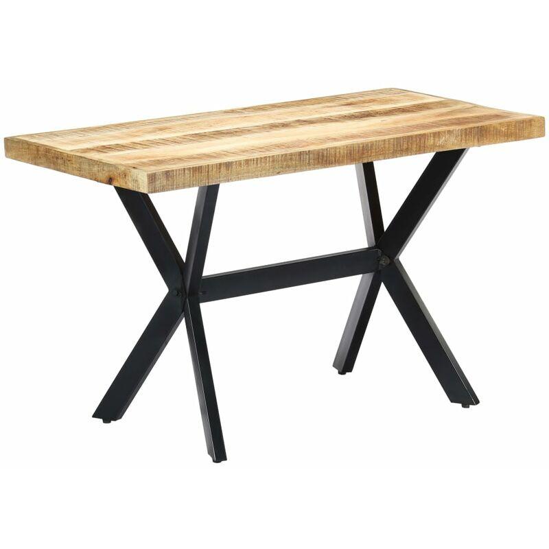 Esstisch Mango Massivholz 120x60x75cm - VIDAXL