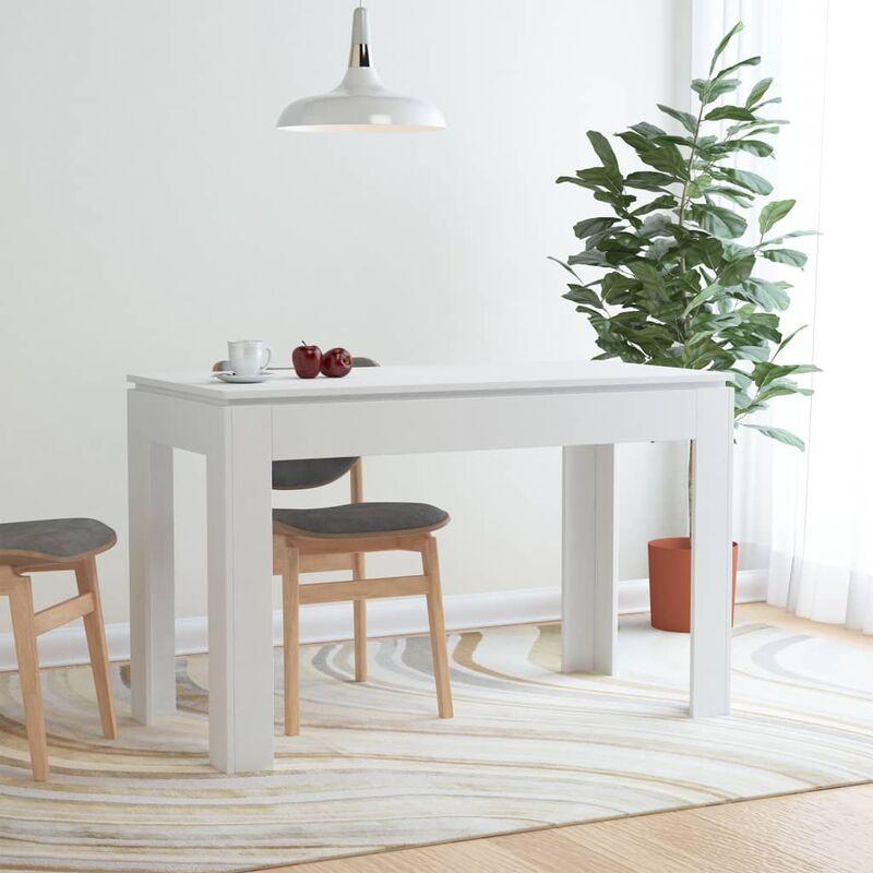 Esstisch Weiß 120×60×76 cm Spanplatte - ZQYRLAR
